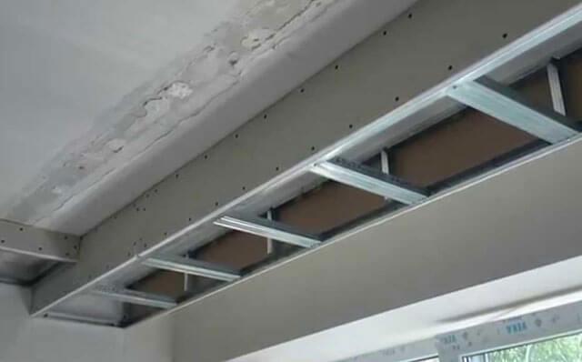 как установить навесные потолки