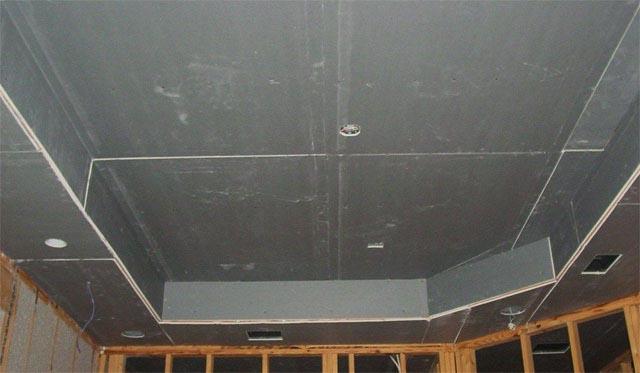 изготовление подвесных потолков из гипсокартона
