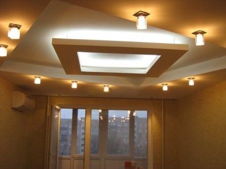 Необычный подвесной потолок