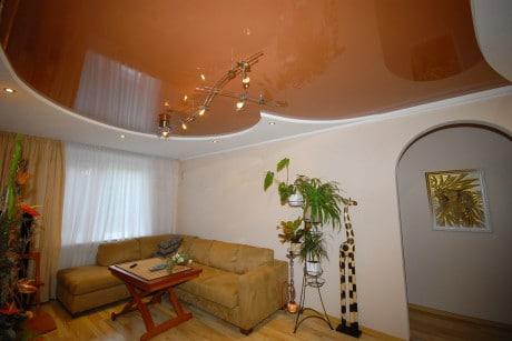 цвет натяжных потолков