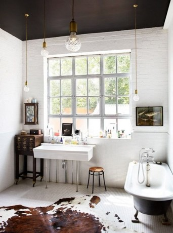 оформление небольшой ванной
