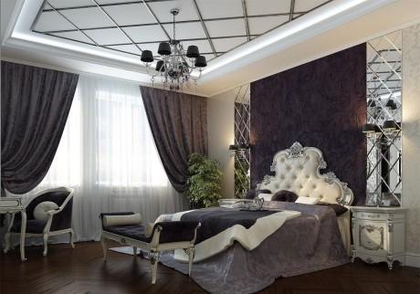 потолок для спальни