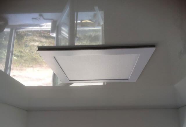 квадратные точечные светильники для натяжных потолков