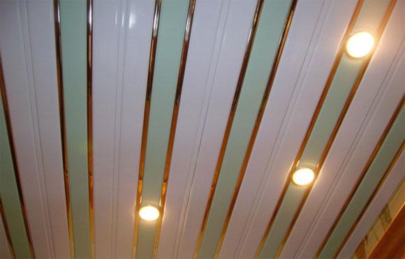 длина реечного потолка