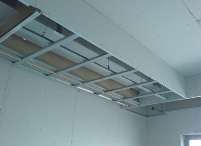 высота короба из гипсокартона на потолке