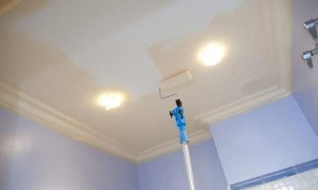 потолок водоэмульсионной краской