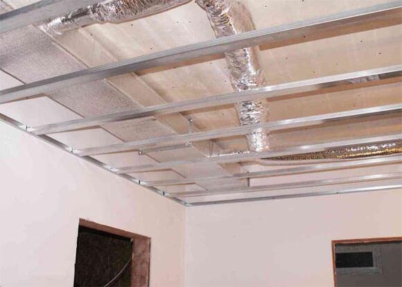 фальш потолок устройство