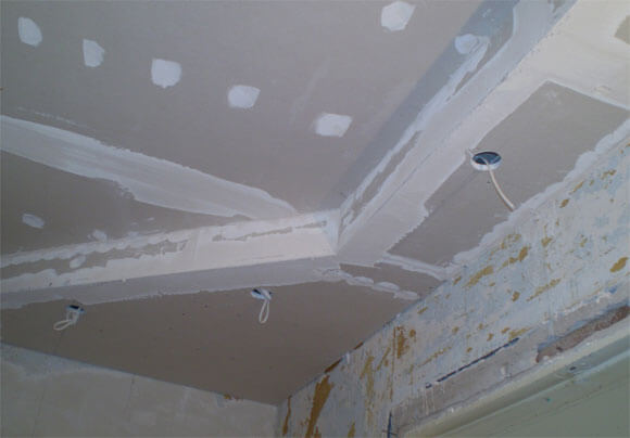 потолок из гипрока особенности