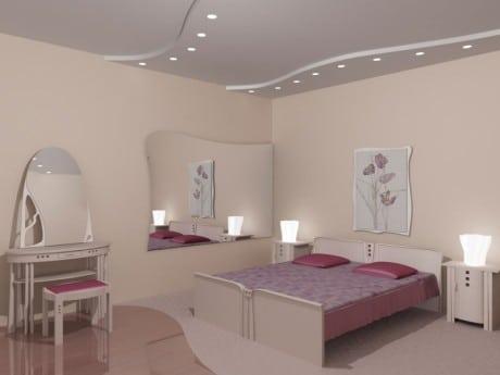 Классические белые потолки