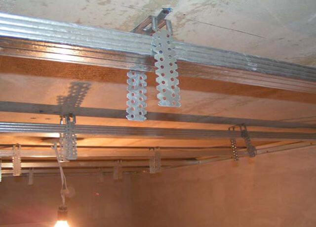 подвесной потолок своими руками пошаговая