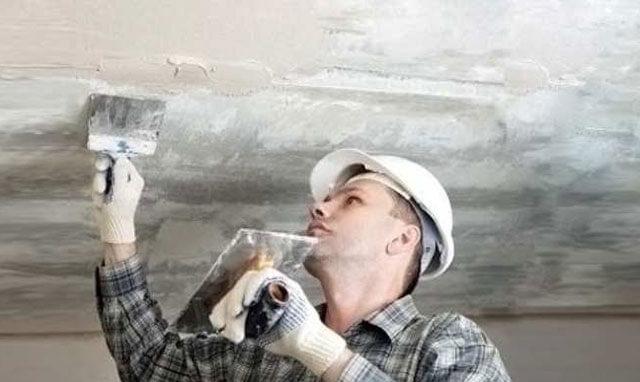 побелить потолок самостоятельно водоэмульсионной краской