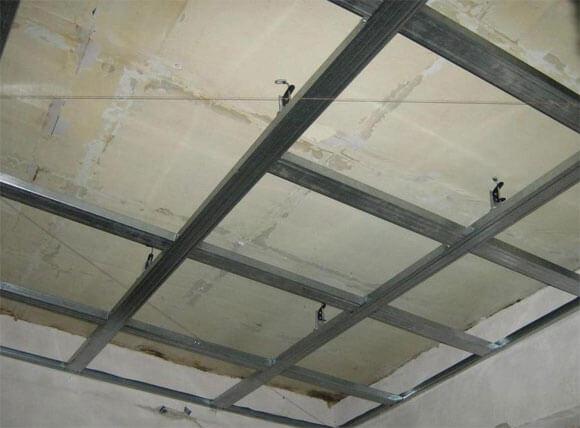 гипсокартонный потолок с подсветкой своими руками