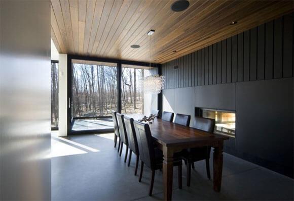 дизайн деревянного потолка