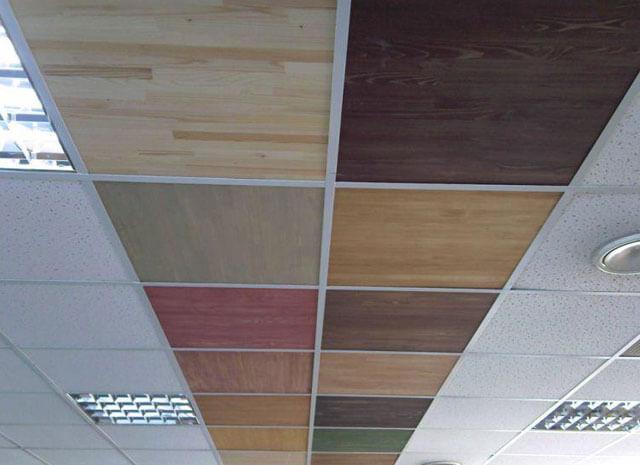 плиточные подвесные потолки