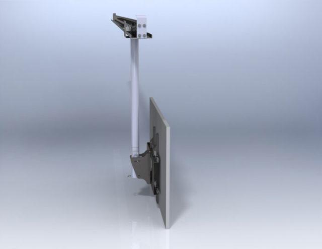 Рельс потолочный для крепления ТВ