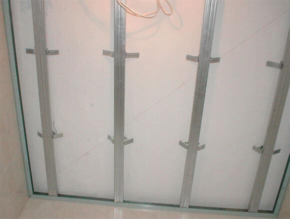 навесные потолки из алюминия