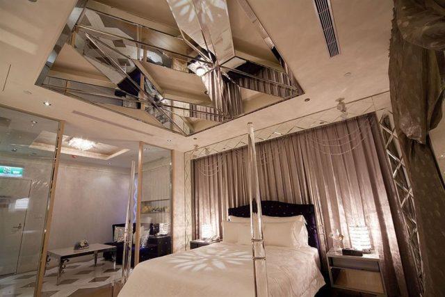 Пример отделки в спальне