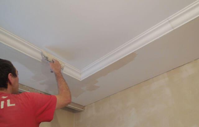 шпаклевание потолка из гипсокартона под покраску