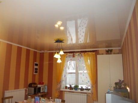 потолки в кухне