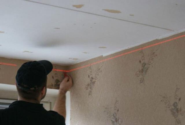 шаг профиля для гипсокартона на потолок