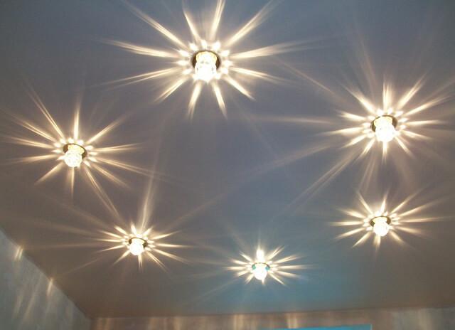 люстры для навесного потолка