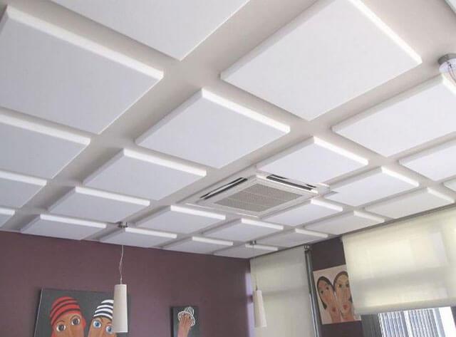 потолок из пенопласта своими руками