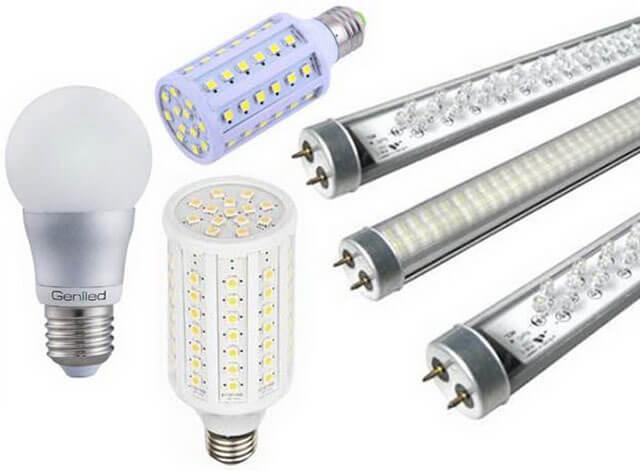 подключение потолочного светодиодного светильника