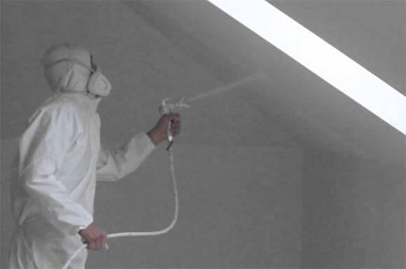 краскопульт для покраски потолка
