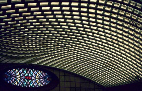 подвесной потолок сетчатый преимущества