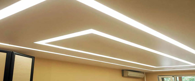 свет в подвесной потолок