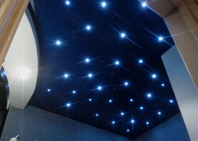 подсветка натяжного потолка светодиодной лентой своими руками