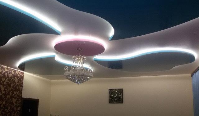 диодная подсветка потолка своими руками