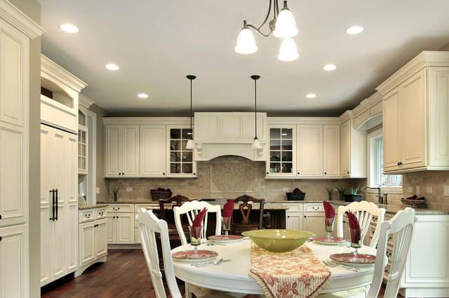 светильники для натяжных потолков на кухню