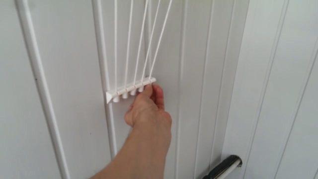 Планка для фиксации шнуров