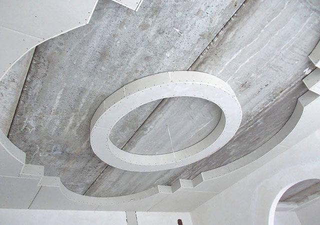 подвесной потолок круг
