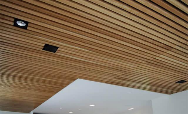 потолочная рейка деревянная
