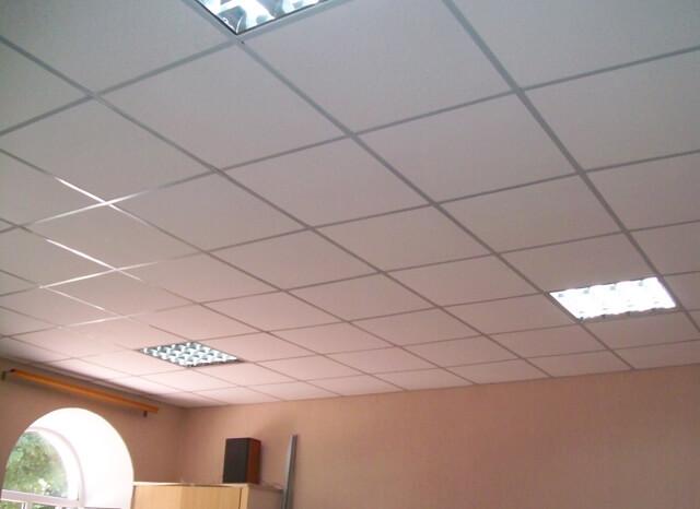 как делать подвесной потолок