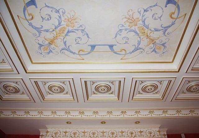 роспись потолков