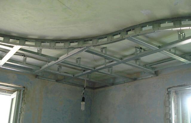 как сделать навесные потолки своими руками