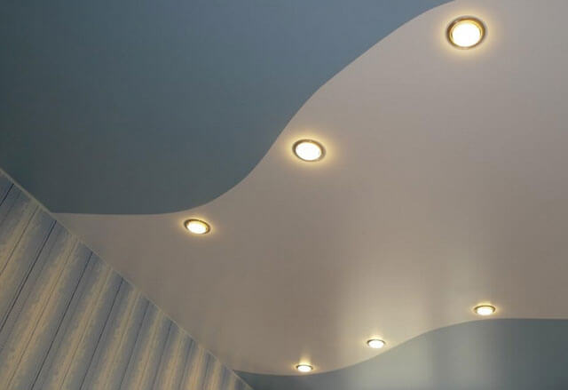 спаянные натяжные потолки