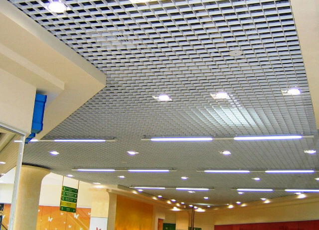 Грильято решетчатые потолки