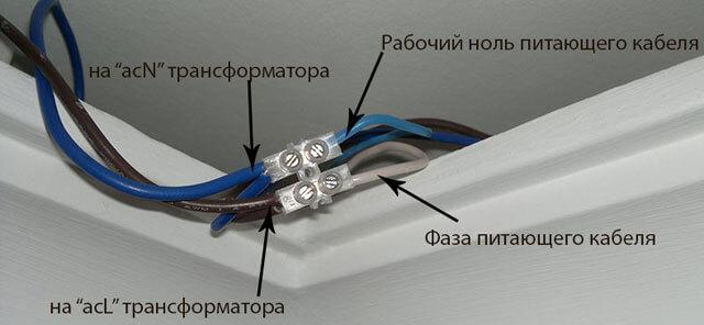 как крепить светодиодную ленту к гипсокартонному потолку
