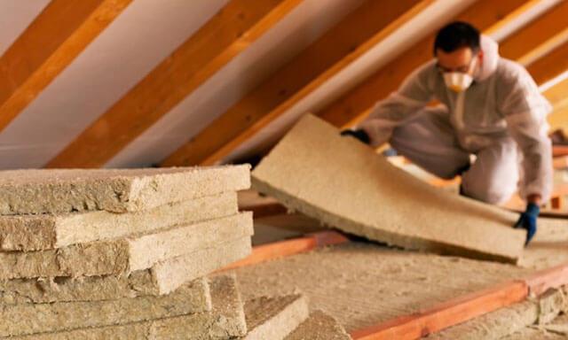 каменная вата для потолка