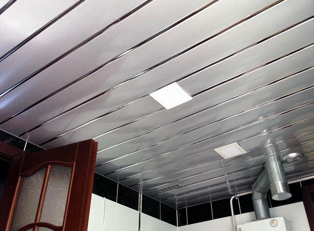 алюминиевые потолочные панели для ванной