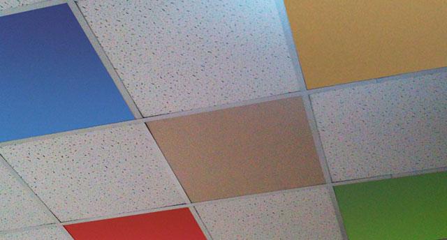 подвесной потолок размер плитки