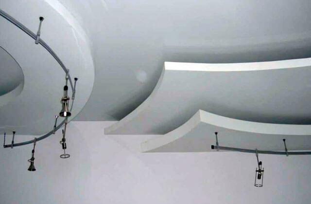 трехуровневый потолок
