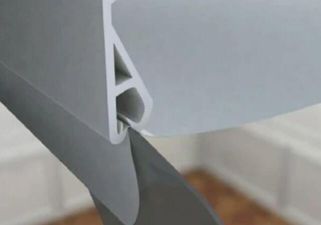 как правильно натянуть потолок натяжной