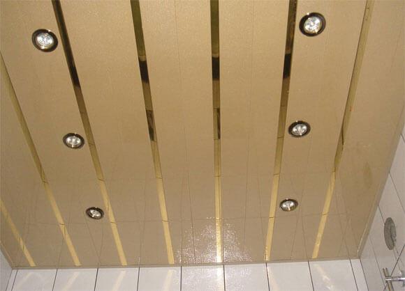 какой реечный потолок лучше