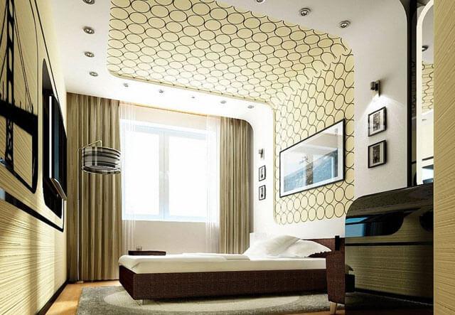 какой натяжной потолок лучше для спальни