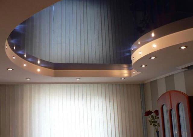 натяжной потолок минимальная высота